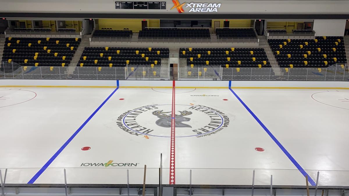 Heartlanders Xtream Arena Ice