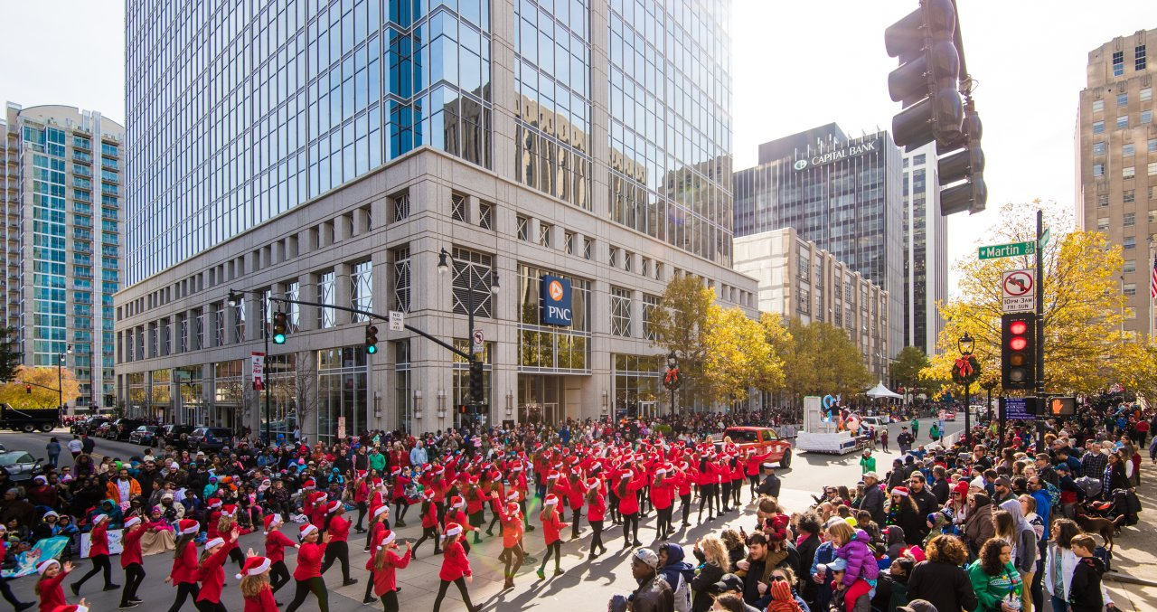A Guide to the Raleigh Christmas Parade