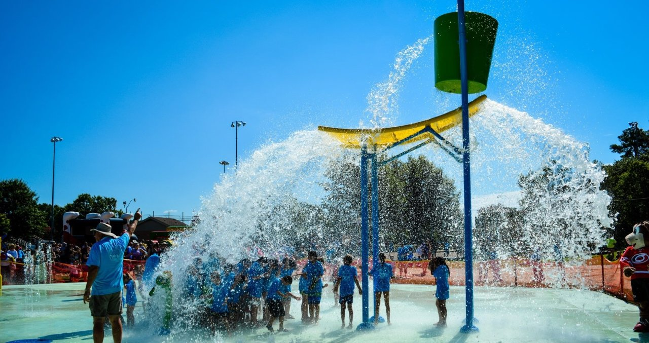 Splash Pads, Lakes and Pools! Water Fun for Families in Raleigh, N C