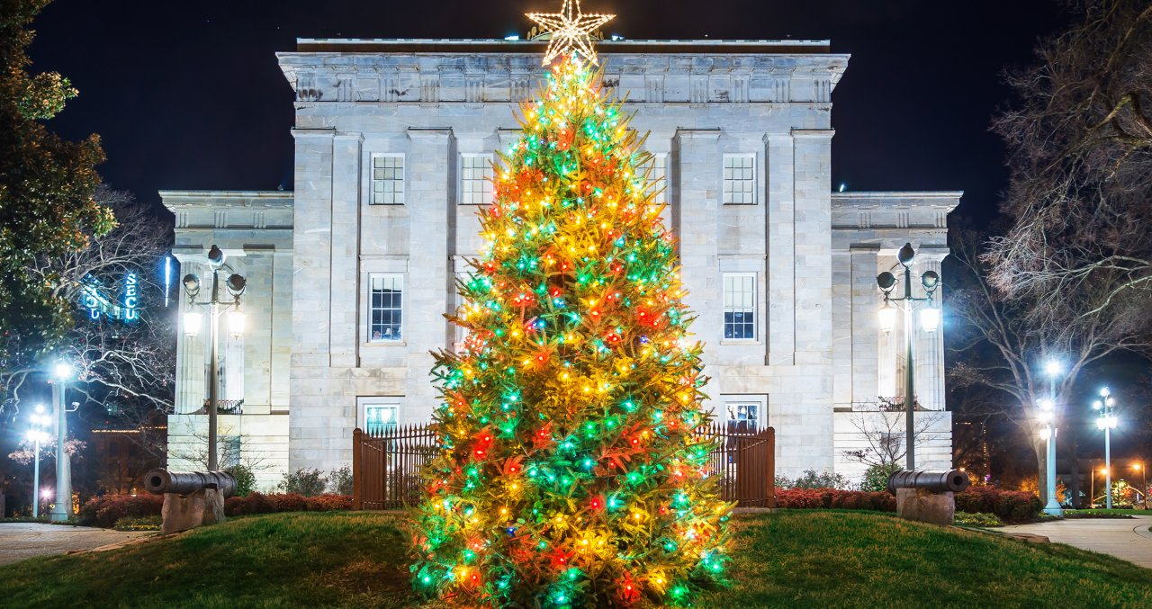 Pullen Park Christmas 2019.Holiday Favorites Light Displays And Christmas Tree