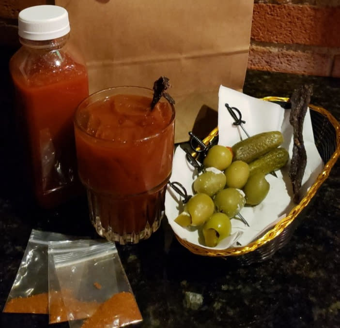 Bloody Mary To-go from Mort's