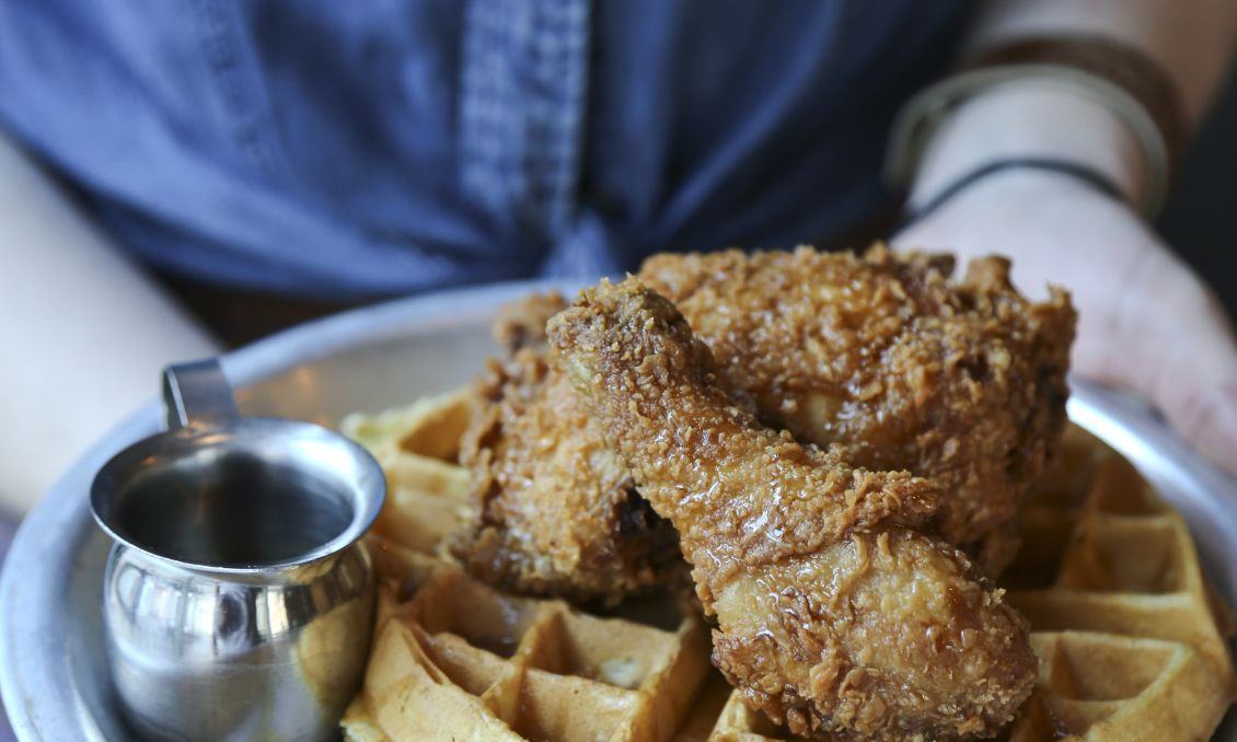Beasley's chicken and waffles