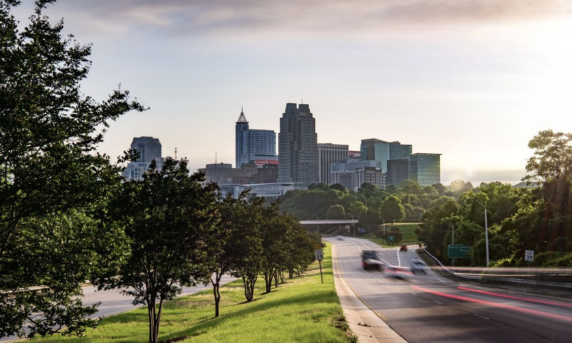 Raleigh Skyline June 2020