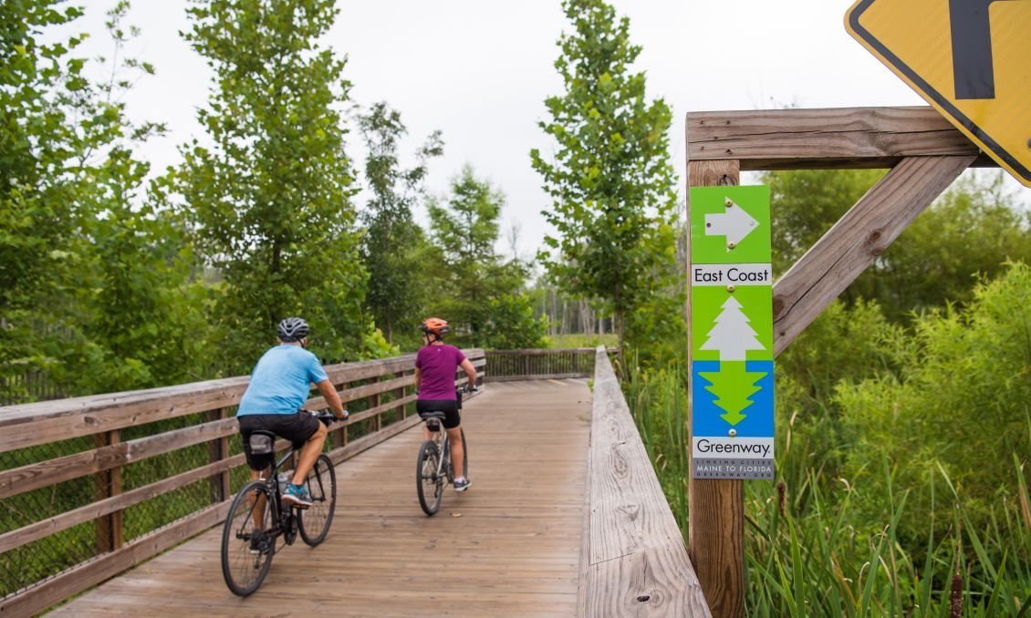 East Coast Greenway Bike