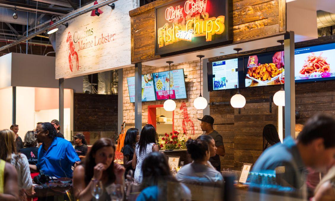 Oak City Fish Chips Morgan Street Food Hall