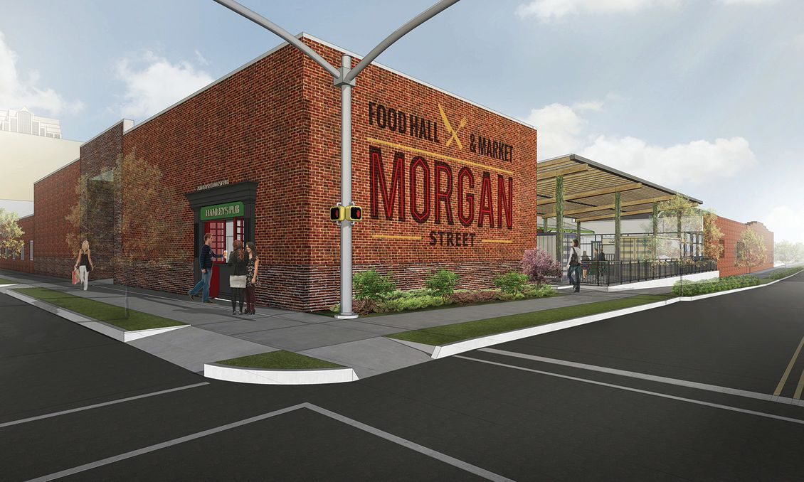 Morgan Street Food Hall Rendering