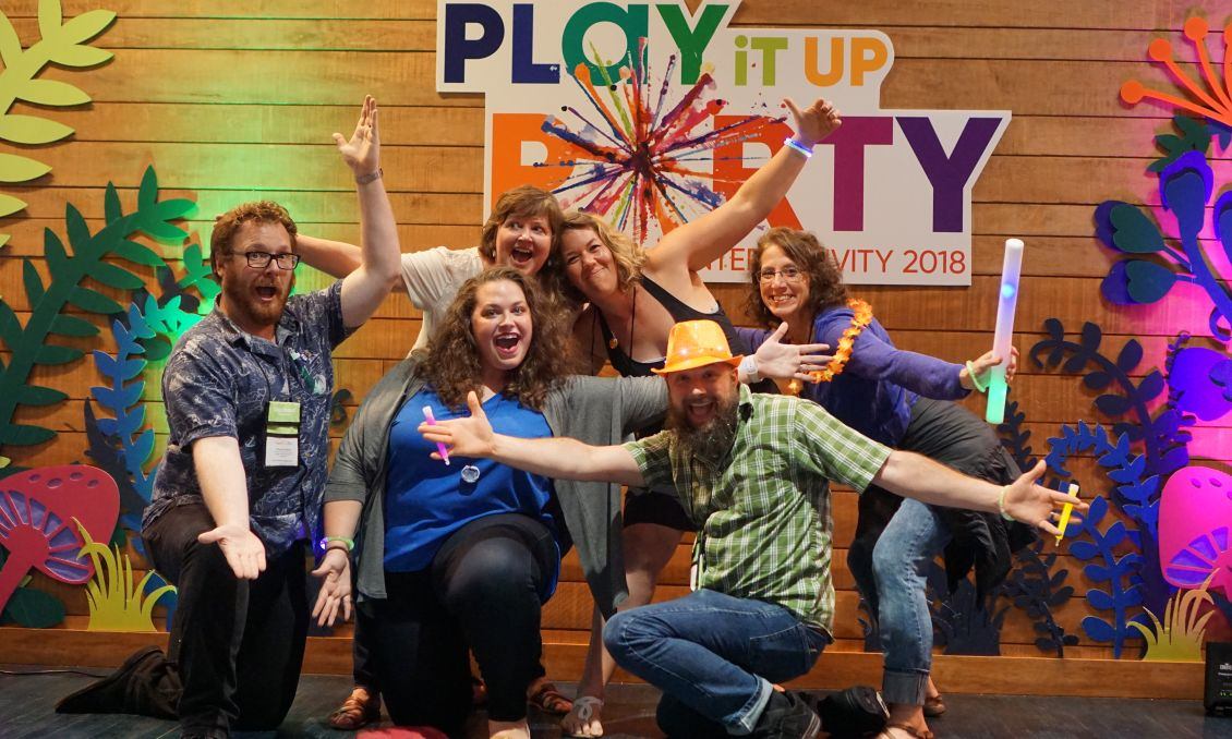 Play It Up Party - InterActivity 2018 Marbles
