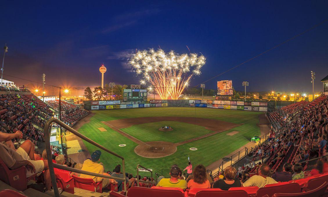 Carolina Mudcats Fireworks