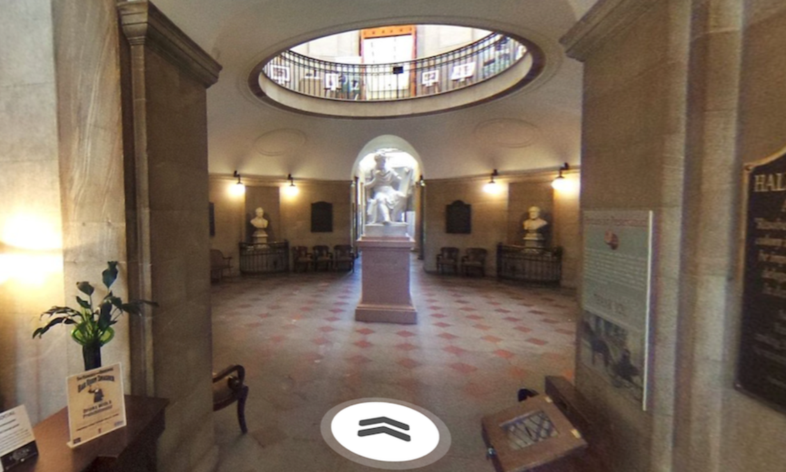 360° virtual tour of N.C. State Capitol