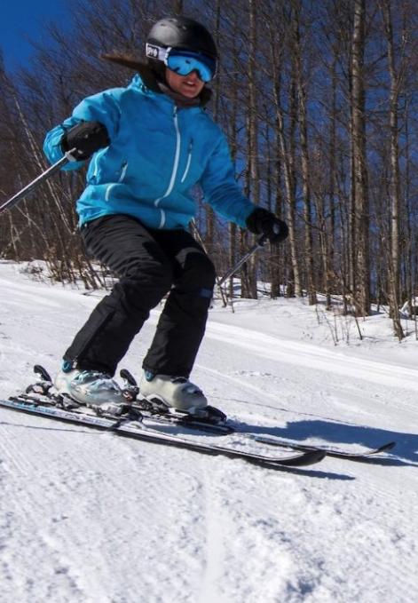 Skiing at Titus Ski Area
