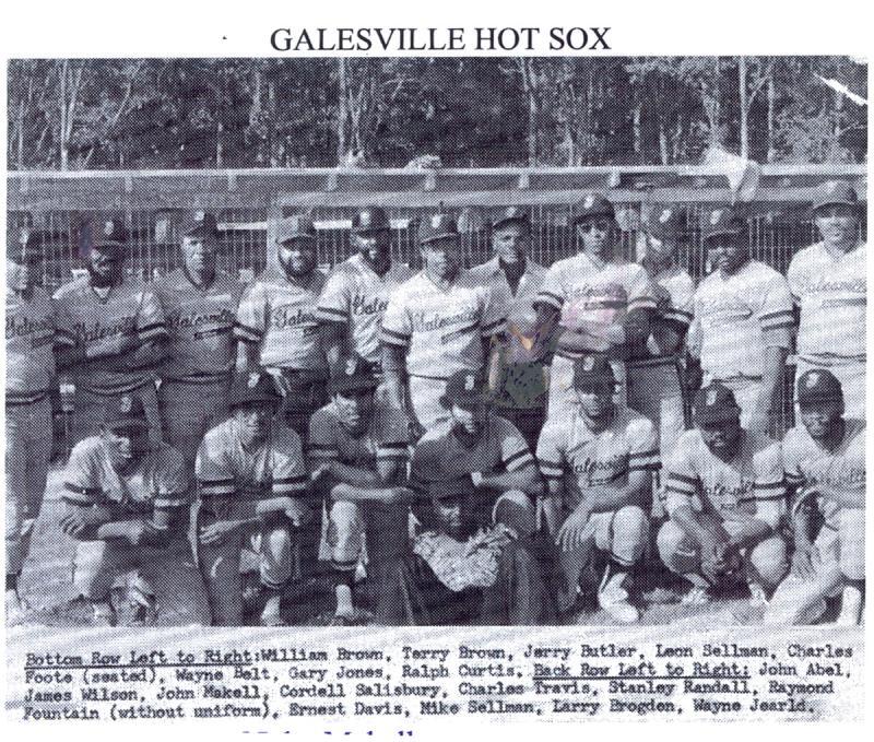 Galesville Hot Sox Team Photo