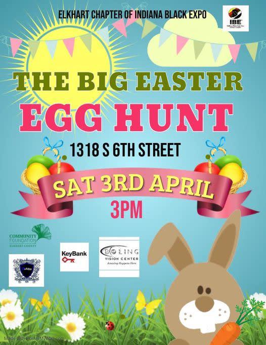 Black Expo Easter Egg Hunt
