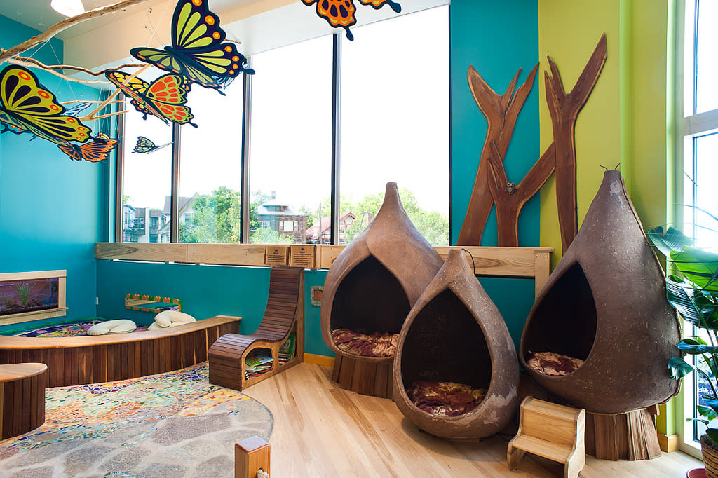 Toddler playspace at Madison Children's Museum