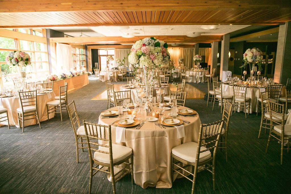 Wedding Setup at Cedarbrook Lodge