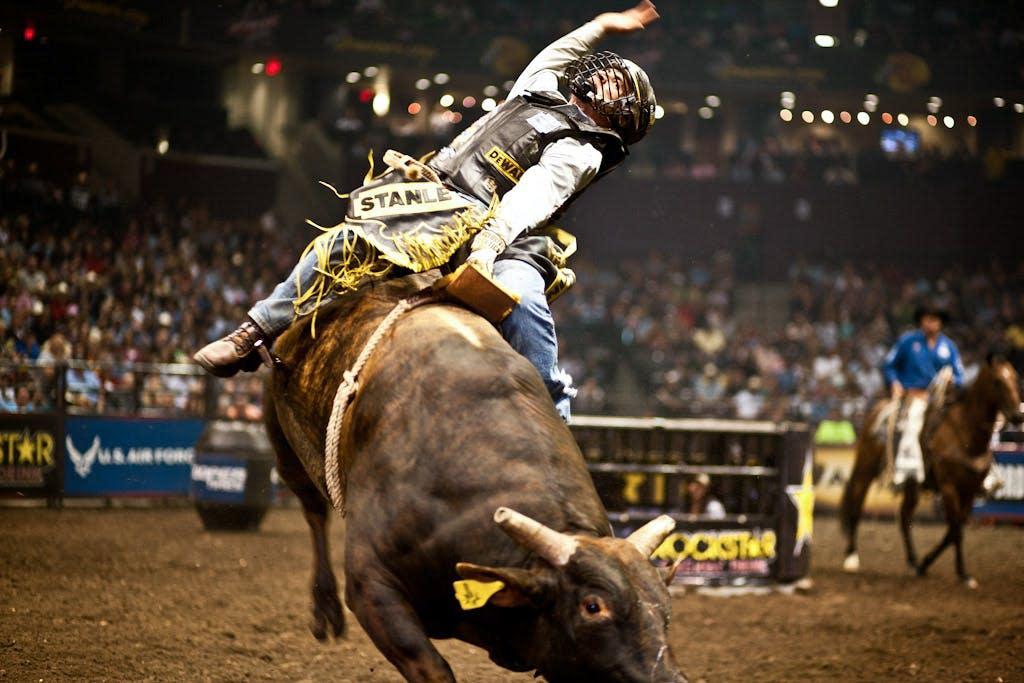 PBR Bull Riding by PFI