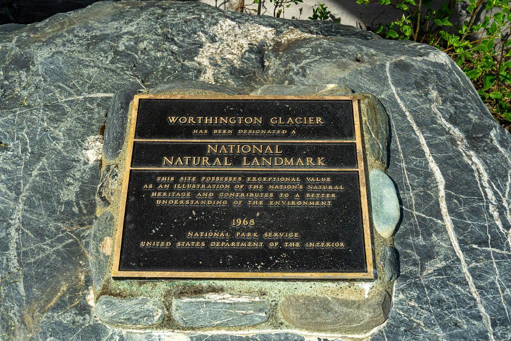 Worthington Glacier National Natural Landmark