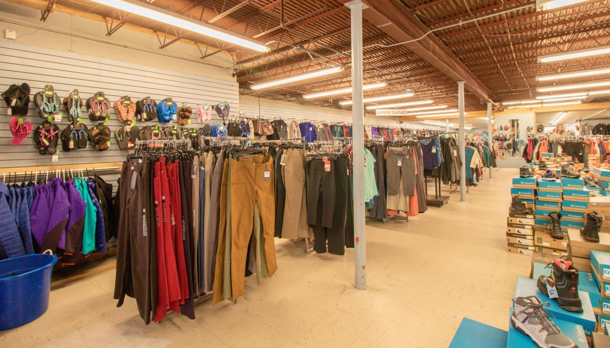 Clothes Mountain Shop In Estes Park, CO