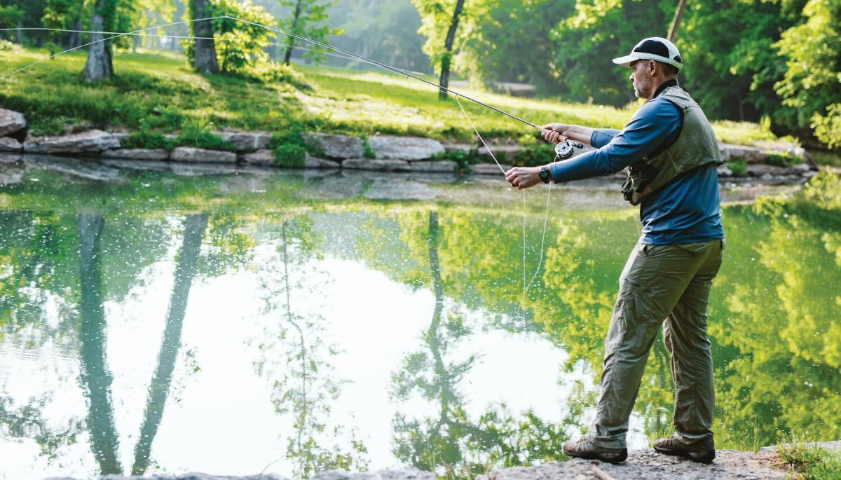 Dogwood Canyon fishing