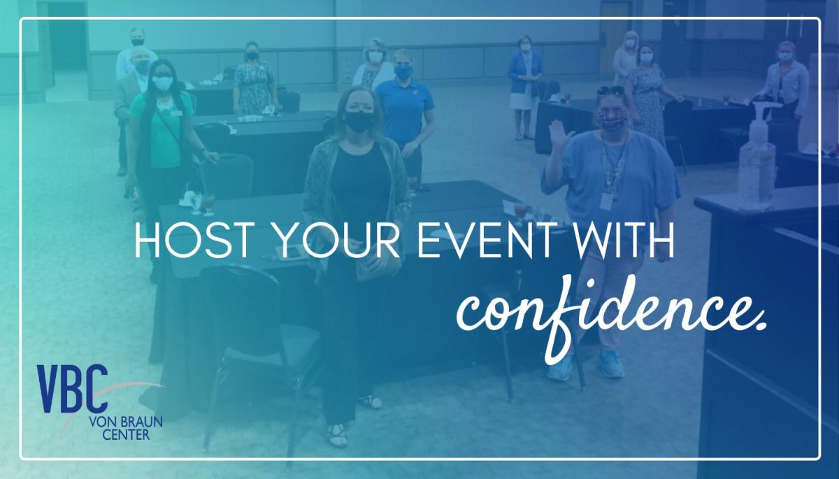 Host your event with confidence