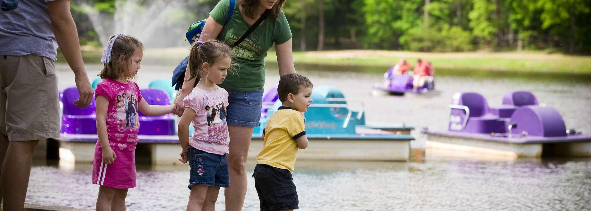 Paddle Boats at Dan Nicholas Park