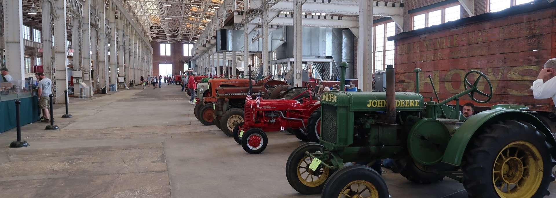 Tractors & Trains