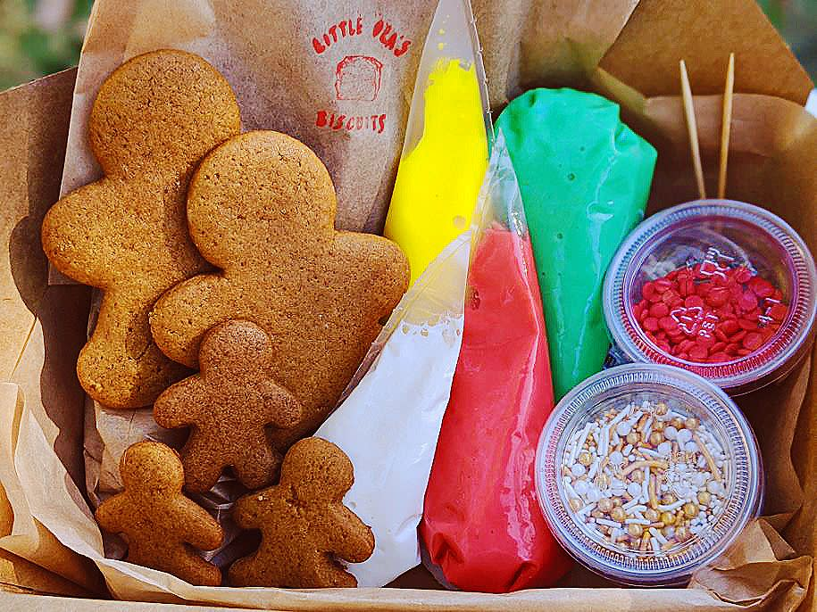 Holiday cookies from Olamaie and Little Olas in Austin Texas