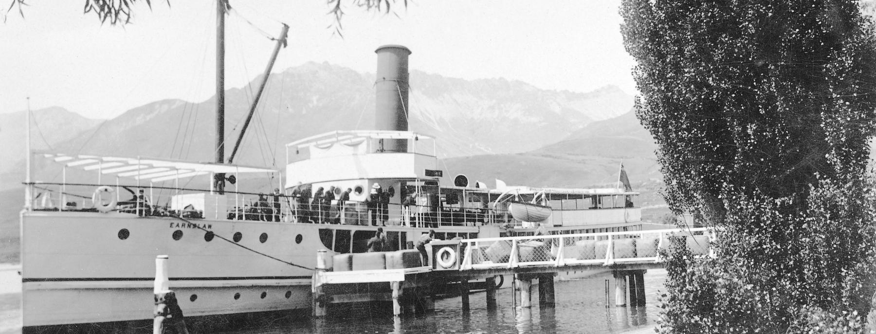 The TSS Earnslaw in the 1950s