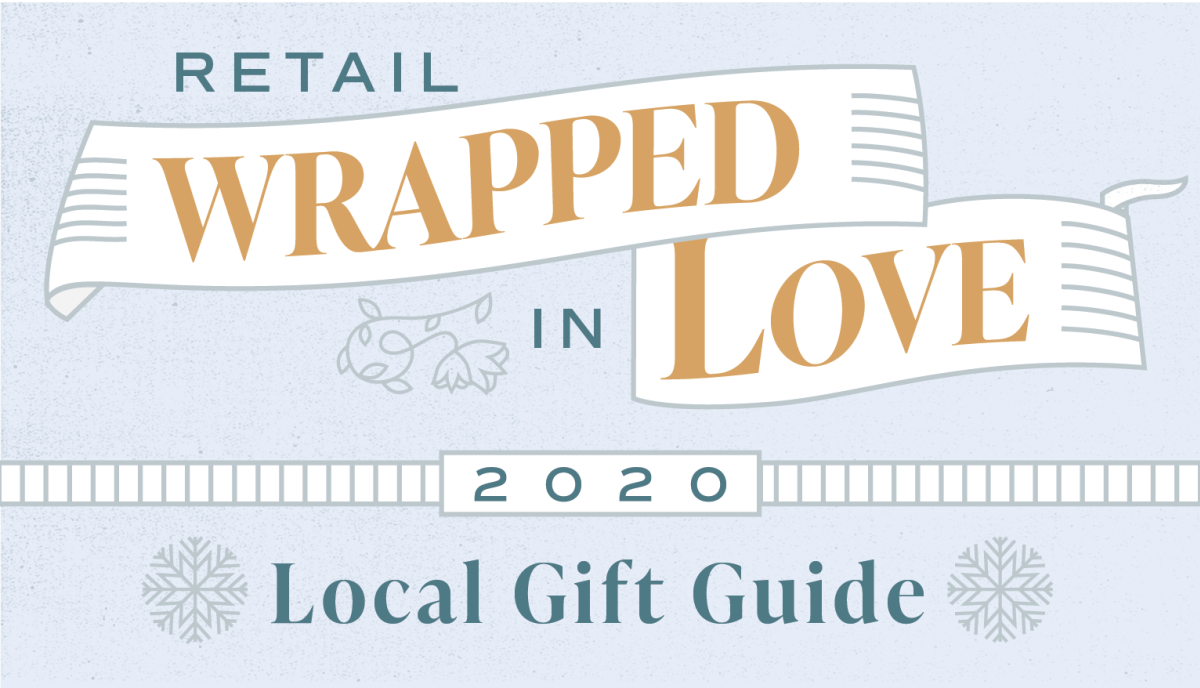 "Fig Bethlehem's ""Wrapped in Love"" Retail Guide to Lehigh Valley Holiday Shopping banner"