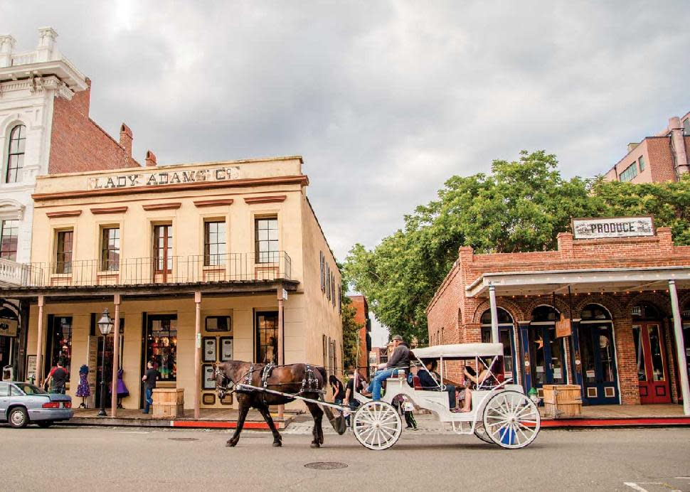 Old Sacramento Carriage