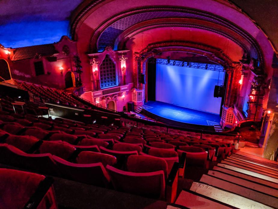 An Empty Orpheum Theatre