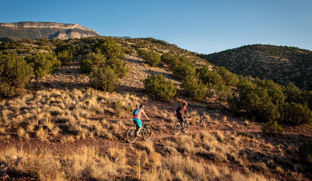 Placitas Mountain Biking
