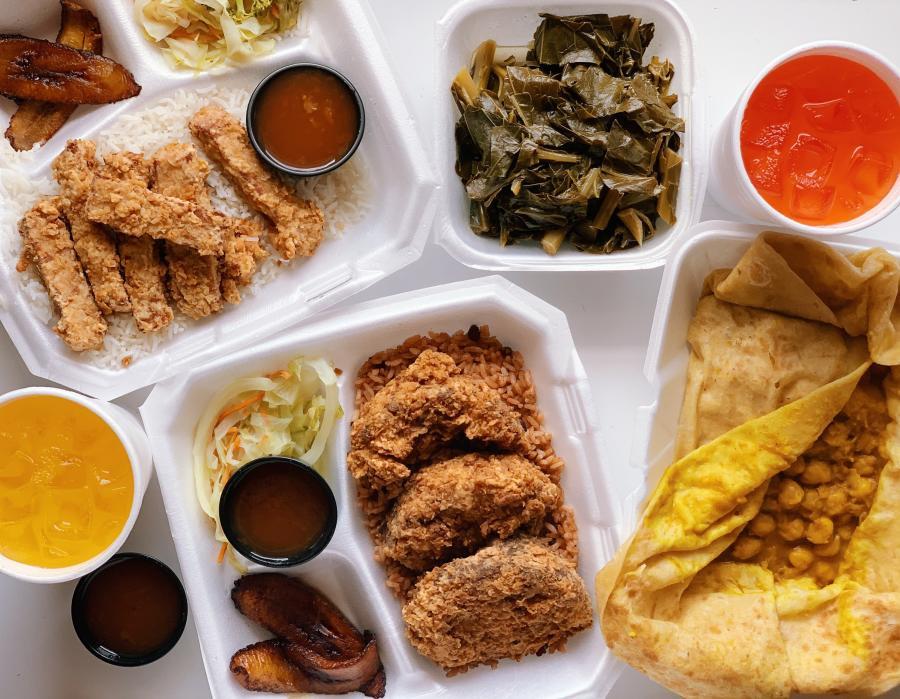 Caribbean Vegan Food