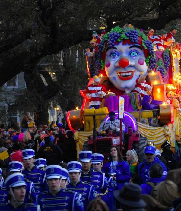 Défilé Bacchus du Mardi gras
