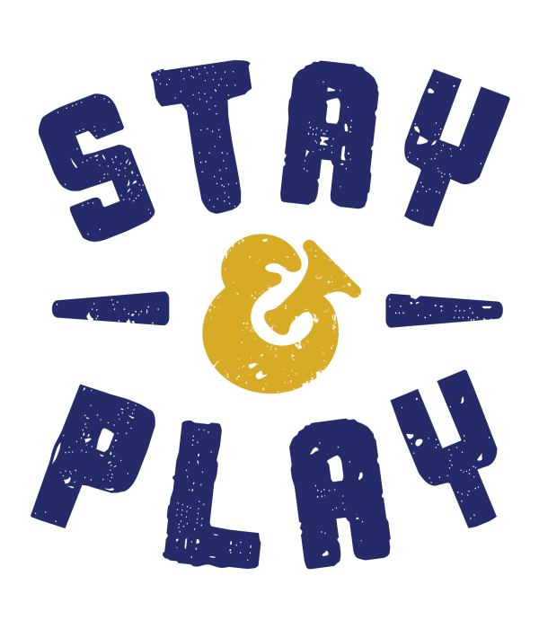 Stay & Play Logo Large Square