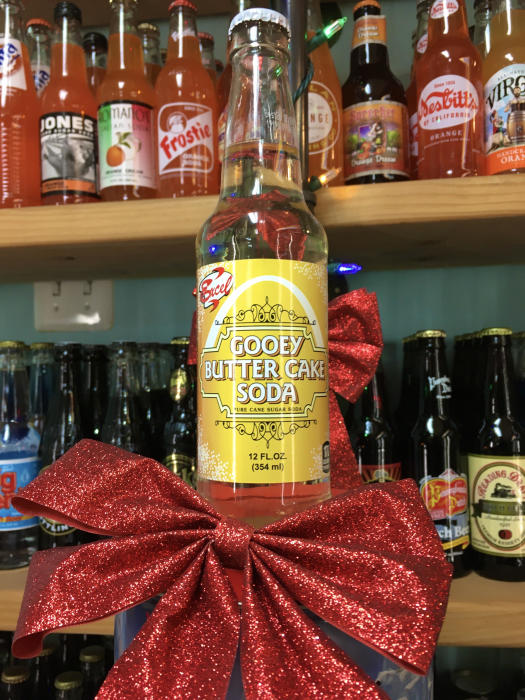 Gooey Butter Cake Soda bottle from North Market Pop Shop