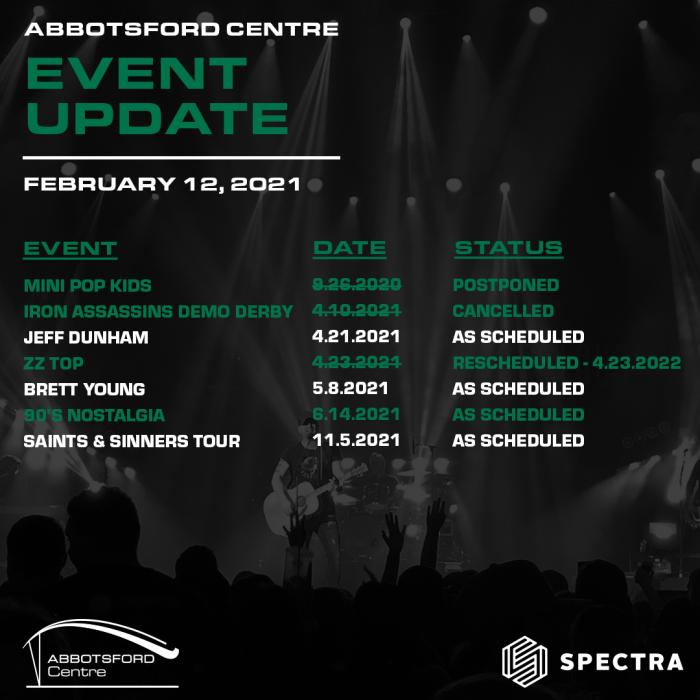 Event Update Feb 12