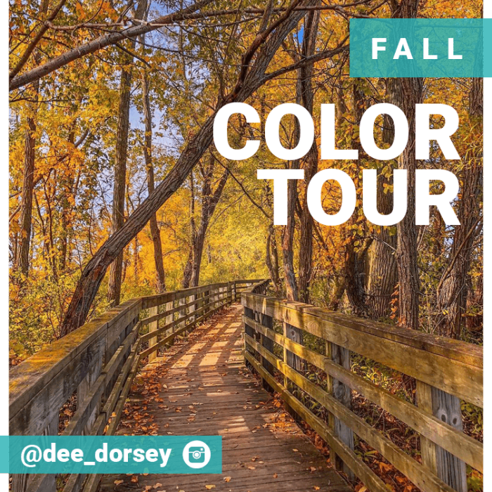Self-Guided Tours - Fall Color Tour - SAMPLE