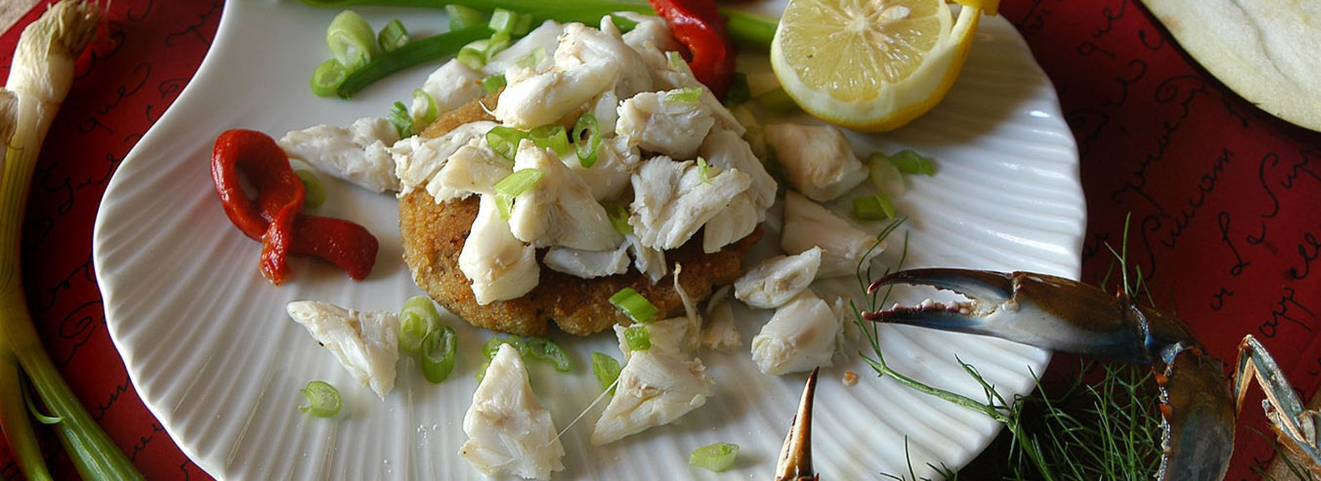 Andrea's Restaurant-Eggplant Crab Cake