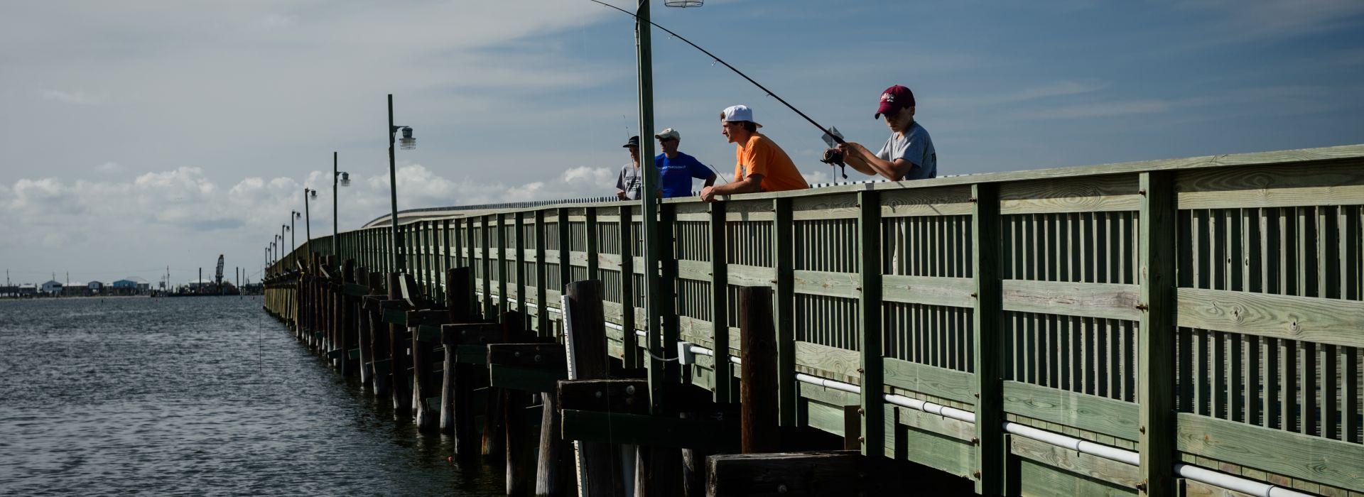 Fishing Pier, Grand Isle