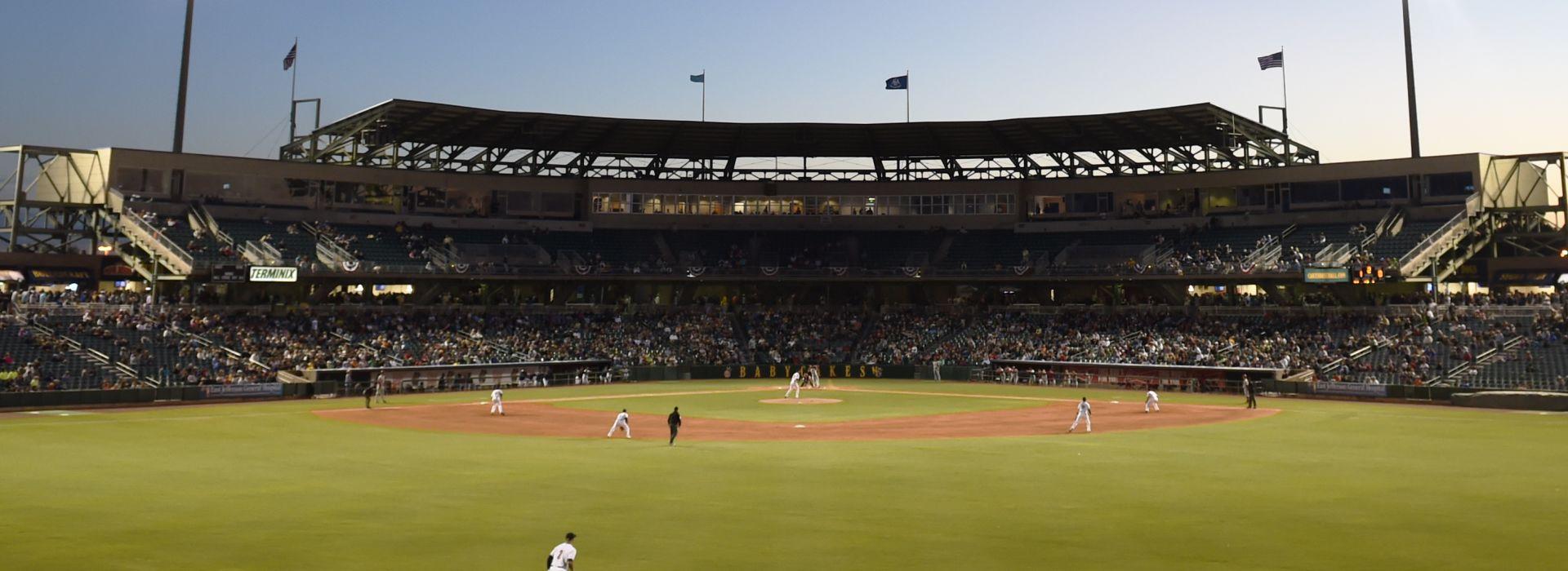 New Orleans BabyCakes baseball
