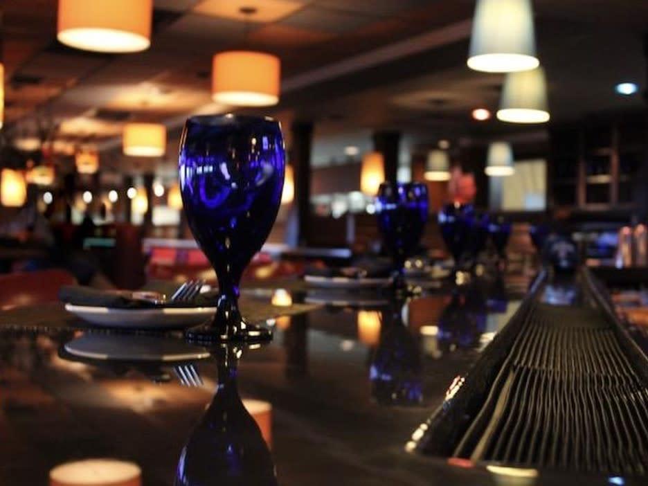 blue point duck restaurant drink wine