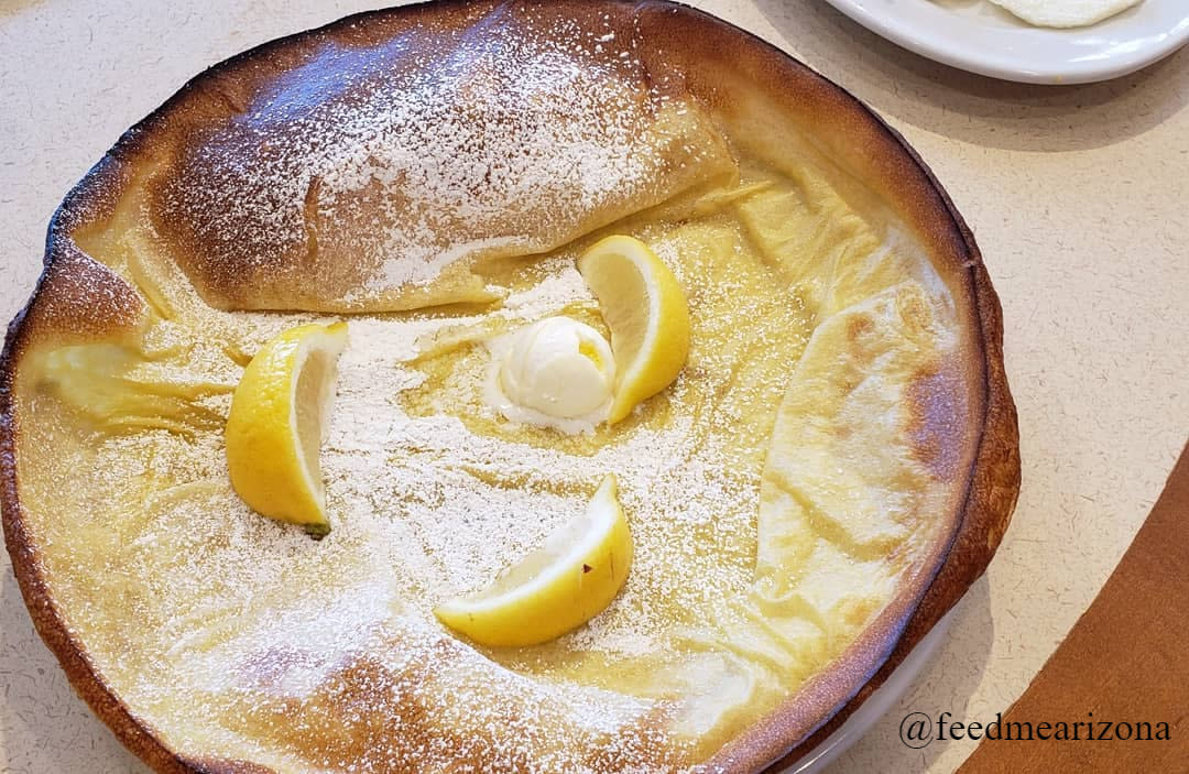 Egg N' Joe in Chandler, AZ - Dutch Baby Pancake