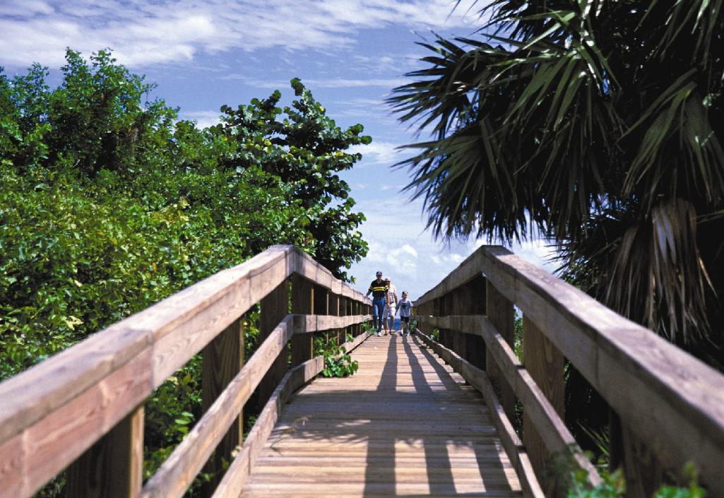 Pepper Park Boardwalk at Fort Pierce