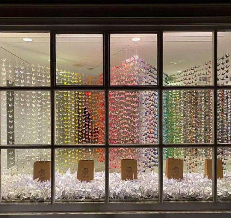 Princeton Pop-Up Paper Crane Project