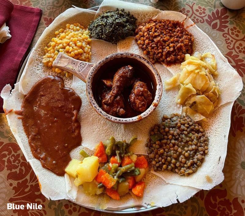 Blue Nile Ethiopian Food