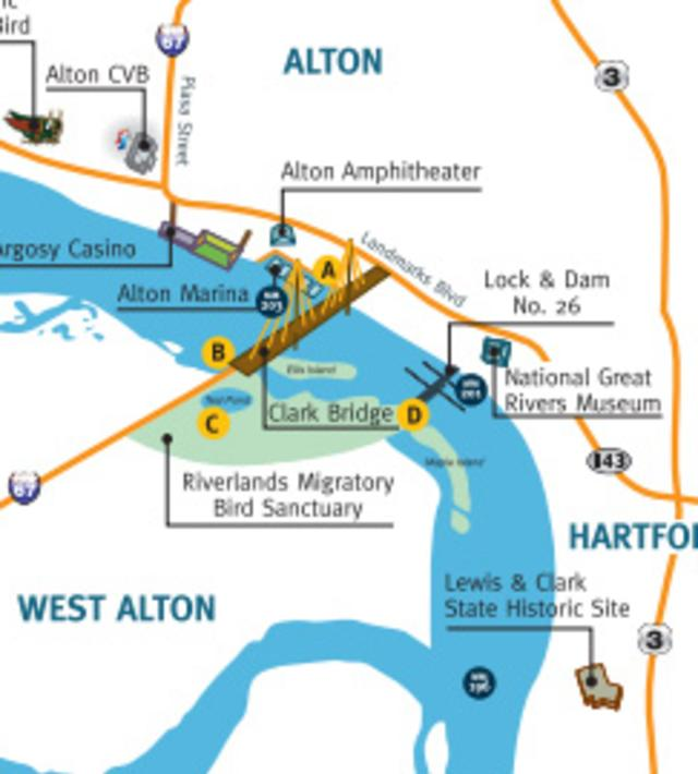 Boating On The Byway map