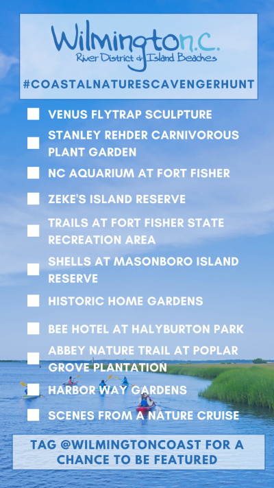 Coastal Nature Scavenger Hunt Card 2