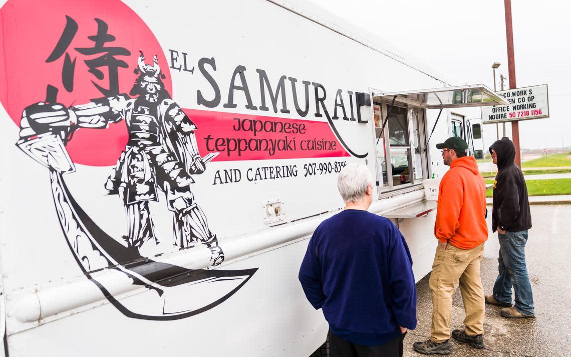 El Samurai food truck