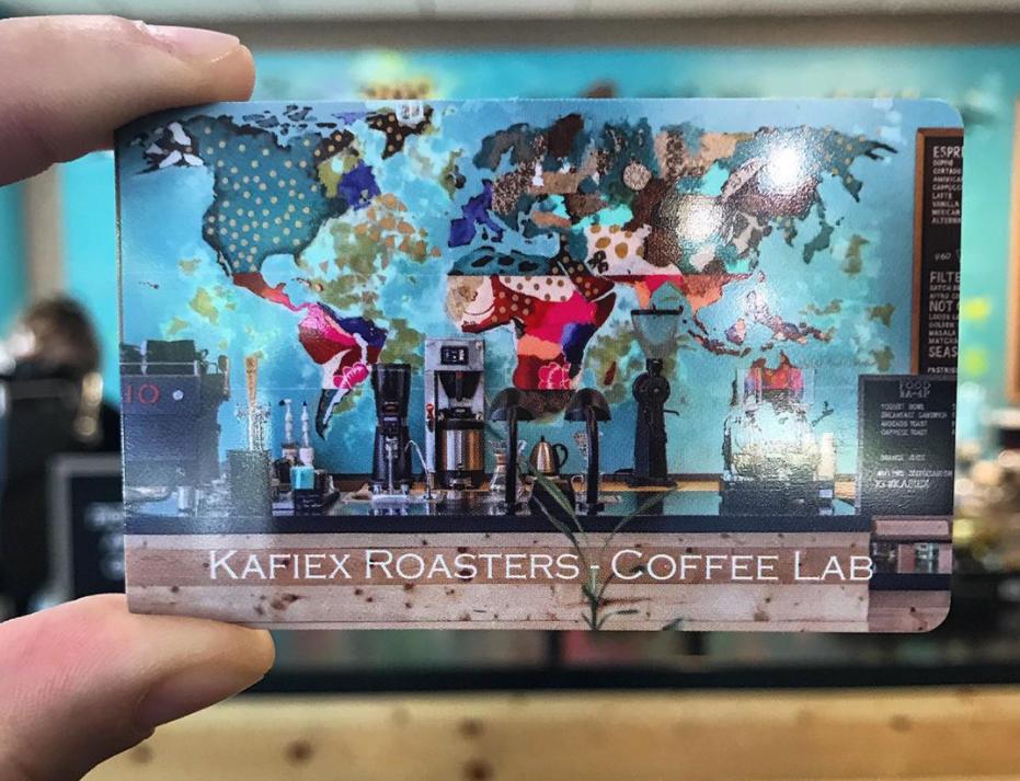 Kafiex Roasters gift card