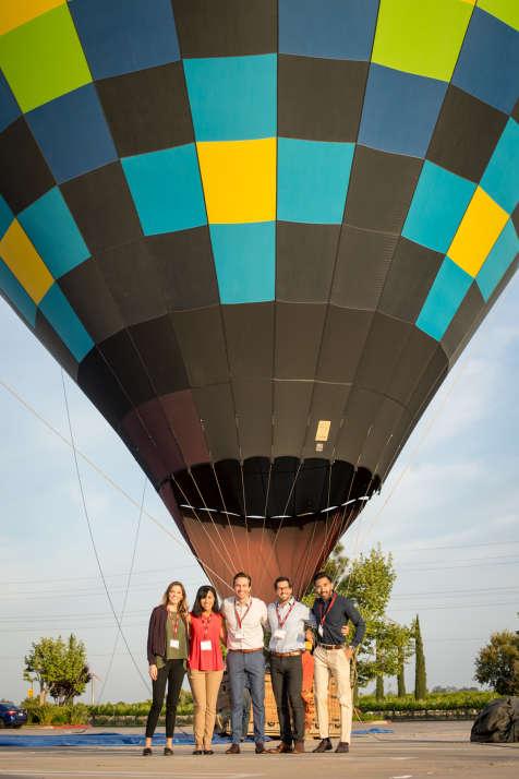 Group Hot Air Balloon